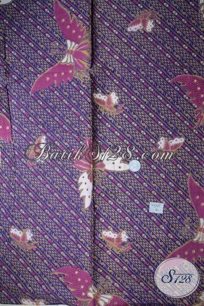 Sedia Kain Batik Printing Kwalitas Bagus Motif Trend Terkini, Cocok Untuk Bahan Busana Pria Mapun Wanita Tampil Lebih Keren