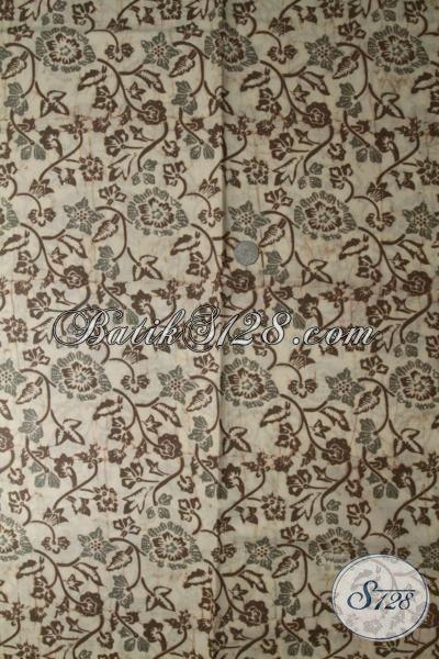 Sedia Kain Batik Solo Terbaru Motif Modern Proses Cap Dengan Warna Alam, Batik Bahan Pakaian Pria Maupun Wanita Kwalitas Halus