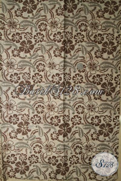 Jual Kain Batik Modern Motif Unik Dengan Warna Kalem Yang Elegan, Batik Bagus Bahan Blus Dan Kemeja Untuk Tampil Berkelas