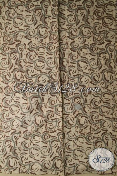 Pusat Jualan Kain Batik Bagus Untuk Bahan Kemeja atau Blus [K1726CA-200x110cm]