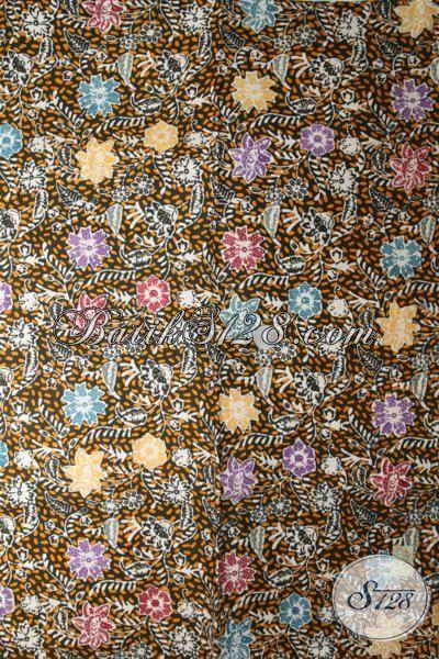 Batik Kain Trendy Kwalitas Halus Dan Berkelas Dengan Motif Cocok Untuk Baju Pesta Dan Jalan-Jalan
