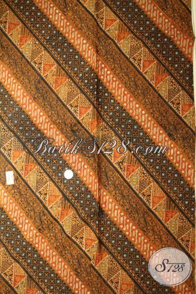 Jual Batik Solo Premium Proses Cap Tulis Dengan Motif Klasik, Batik Bahan Pakaian Pria Dan Wanita Bisa Tampil Mewah