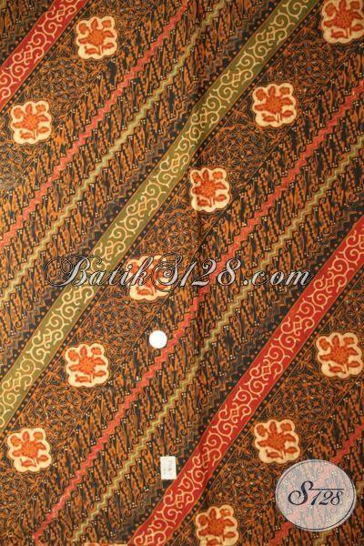 Online Shop Kain Batik Solo Terlengkap Dan Termurah, Sedia Batik Klasik Bahan Busana Premium Dengan Harga Terjangkau [k1746CT-240x110cm]
