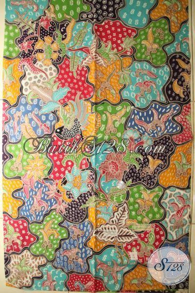 Jual Batik Mewah Dan Mahal, Batik Bahan Baju Premium, Batik Modern Motif Trendy Dan Berkelas