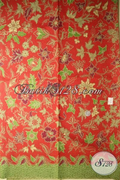 Toko Aneka Batik Trendy Online, Batik Print Bahan Pakaian Perempuan Masa Kini, Pusat Batik Murah Di Solo