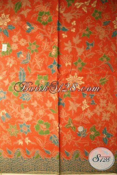 Agen Kain Batik Solo Paling Up To Date, Jual Batik Print Lasem Motif 2015, Cocok Untuk Baju Kerja Dan Santai