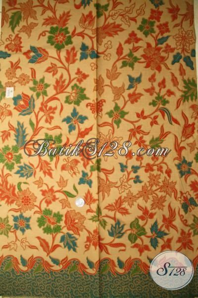 Batik Kain Modern Nuansa Klasik Berpadu Motif Keren Dan Menawan, Batik Bahan Busana Kwalitas Halus Proses Printing Harga Murah Meriah