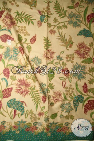 Jual Aneka Batik Print Lasem Buatan Solo, Batik Bahan Pakaian Berkwalitas Halus Motif Terbaru Tahun Ini