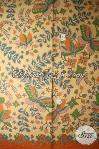 Batik Bahan Kemeja Pria, Kain Batik Untuk Blus, Batik Printing Lasem Lebih Halus Dengan Harga Terjangkau