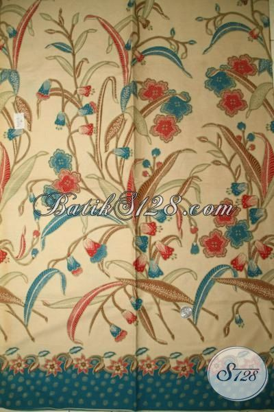 Bahan Baju Batik Atasan Model Blus Dan Dress, Batik Solo Halus Proses Print Lasem Harga Murmer, Batik Kain Motif Modern Dan Trendy