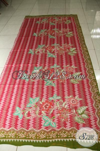 Jual Kain Batik Premium Proses Tulis Tangan Asli, Batik Motif Modern Bahan Pakaian Mewah Berkelas Tinggi Harga Mahal