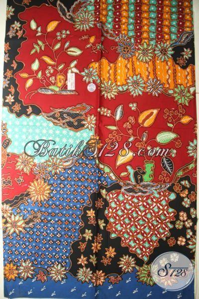 Batik Tulis Bahan Pakaian Wanita Dan Pria, Batik Solo Premium Harga Mahal Motif Klasik Dengan Warna Modern Yang Elegan