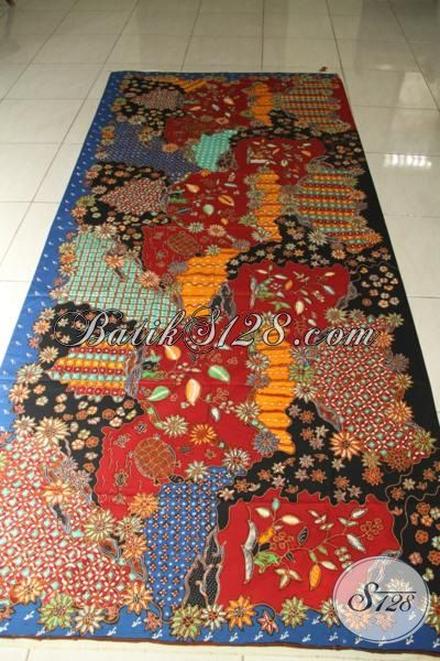 Batik Tulis Modern Exclusive Berkelas, Harga Murah Terjangkau, Untuk Pecinta Batik [K1785TMH-240x110cm]