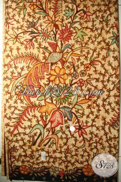 Batik Kain Proses Tulis Kwalitas Istimewa, Batik Solo Premium Untuk Busana Wanita Dewasa Nan Mewah, Batik Klaisk Masa Kini Harga Mahal