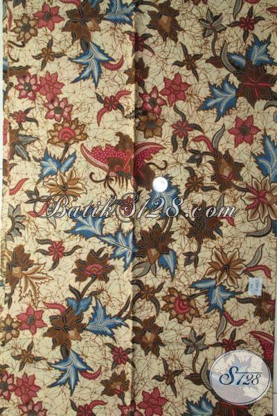 Butik Batik Online Sedia Batik Bahan Busana Motif Unik Warna Lembut, Batik Jawa Khas Solo Berkelas Tinggi Harga Murmer