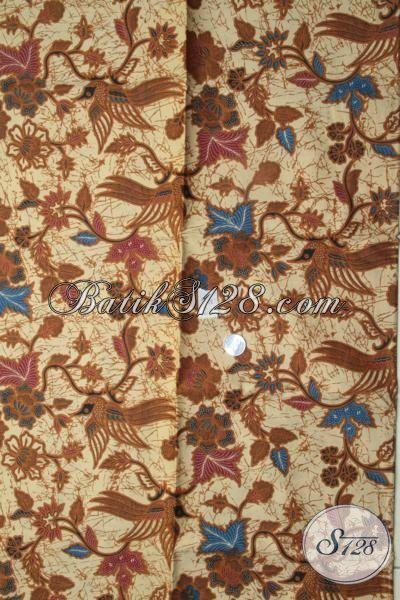Batik Solo Terbaru Dengan Warna Klasik Berpadu Motif Modern Yang