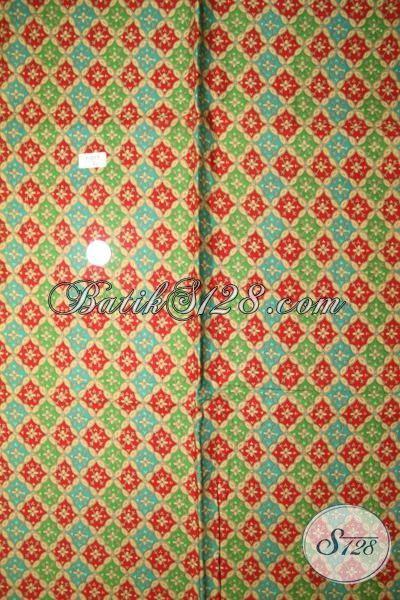 Batik Bagus Dan Halus, Kain Batik Print Adem Bahan Baju Kerja, Batik Solo Motif Terkini Harga Sangat Terjangkau