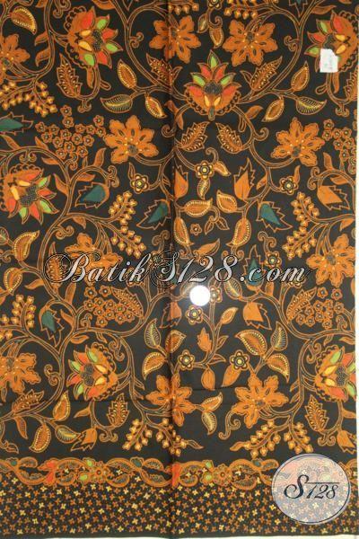 Batik Elegan Proses Kombinasi Tulis, Kain Batik Bahan Dress Mewah, Batik Solo Klasik Untuk Hem Tampil Lebih Gagah