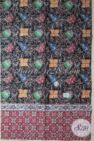 Batik Solo Corak Berkelas Kwalitas Halus, Batik Terkini Bahan Aneka Pakaian Wanita Pria Untuk Tampil Lebih Mempesona [K1877CT-200 x 110 cm]
