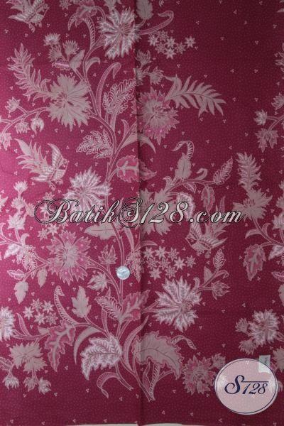 Batik Modern Khas Jawa Tengah Dengan Warna Lembut Yang Menggoda, Batik Kombinasi Tulis Motif Keren Abis Cocok Banget Untuk Dress