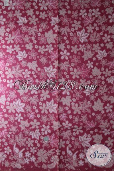 Batik Bahan Baju Cewek Motif, Hadir Dengan Motif Yang Cantik Serta Trendy, Modis Untuk Dress Dan Mewah Untuk Blus Proses Kombinasi Tulis [K1889BT-240 x 110 cm]