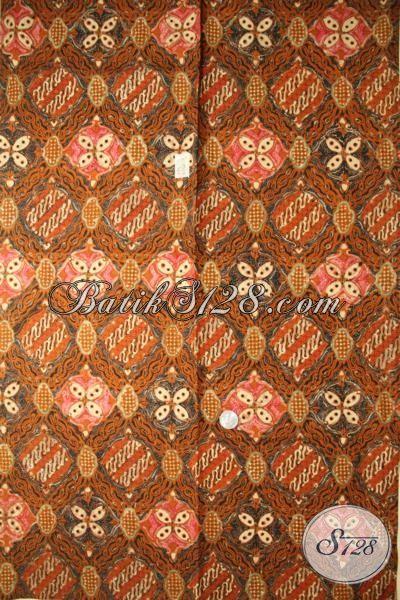 Batik Kain Cap Tulis Produk Solo Bahan Pakaian Pria Masa Kini, Batik Halus Motif Klasik Pas banget Untuk Pakaian Formal