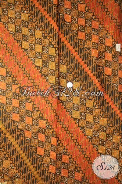 Butik Batik Online Sedia Kain Batik Solo Halus Bahan Pakaian Kerja Pria, Batik Kwalitas Premium Proses Cap Tulis Harga Terjangkau