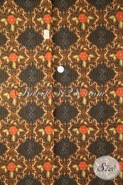 Batik Kain Modern Motif Unik Dan Menarik, Batik Cap Tulis Elegan Buatan Solo Pilihan Tepat Untuk Busana Berkelas [K1904CT-240 X 110 cm]