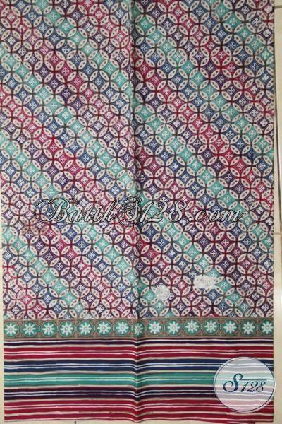 Batik Parang Bahan Kemeja Berkelas, Batik Modern Cap Tulis Kwalitas Halus, Bisa Untuk Baju Lebaran Dan Seragam Kerja