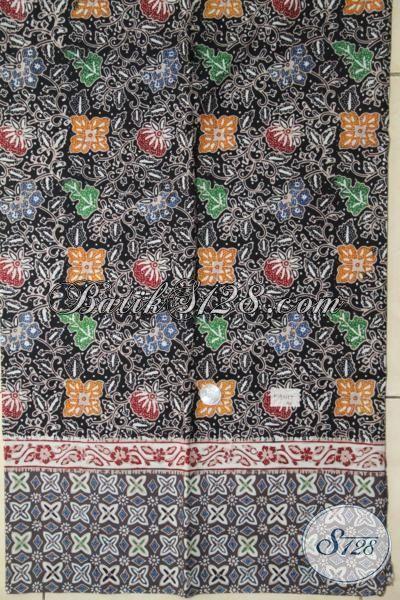 Batik Bahan Hem, Kain Batik Cap Tulis Untuk Kemeja Lengan Pendek Motfi Kombinasi Tampil Makin Gagah [K1931CT-200X110 cm]