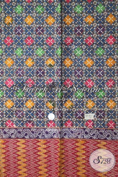 Sedia Kain Batik Halus Buatan Solo, Batik Bahan Kemeja Trendy Proses Cap Tulis Kwalitas Premium Harga Terjangkau