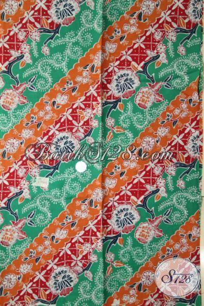 Kain Batik Motif Terbaru Yang Modis Dan Fashionable, Batik Jawa Tengah Proses Printing Harga Grosir