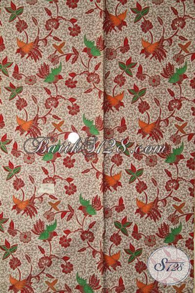 Butik Batik Online Jual Kain Batik Modern Buatan Solo, Kain Batik Jawa Tengah Proses Print Halus