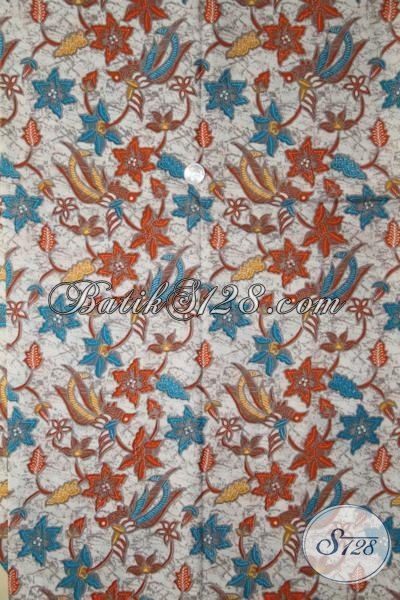 Jual Batik Jawa Halus, Kain Batik Adem Proses Printing Pas Banget Buat Dress Dan Baju Santai Cewek