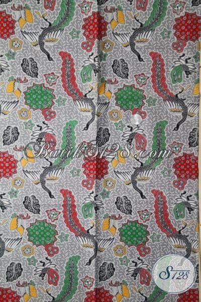 Kain Batik Murah Kwalitas Istimewa, Batik Halus Motif Elegan Cocok Untuk Busana Santai Dan Pesta Perempuan Masa Kini [K1968P-200 X 105 cm]