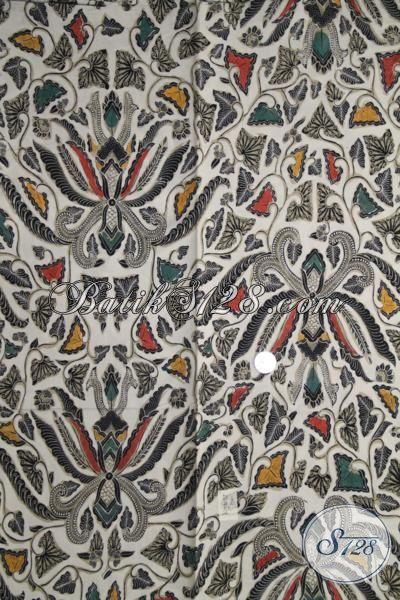 Kain Batik Pisang Bali Warna Keren, Batik Bahan Baju Masa Kini Proses Kombinasi Tulis Untuk Tampil Modis Dan Berkarakter [K1980BT-240×110 cm]