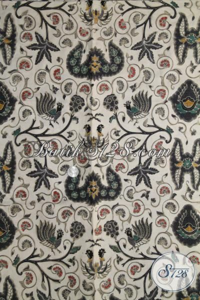 Batik Klasik Wahyu Tumurun Buatan Solo, Kain Batik Adem Halus Warna Elegan Bisa Untuk Baju Kerja  Dan Acara Formal, Proses Kombinasi Tulis