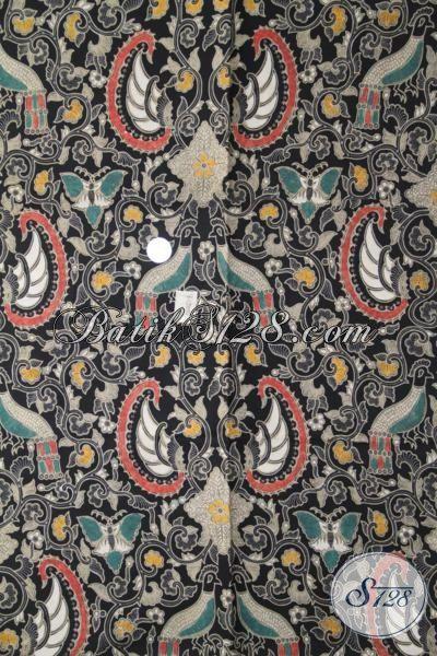 Kain Batik Klasik Dari Solo Kwalitas Halus, Batik Kombinasi Tulis Bahan Busana Formal Wanita Dan Pria, Batik Berkelas Tampil Lebih Paten