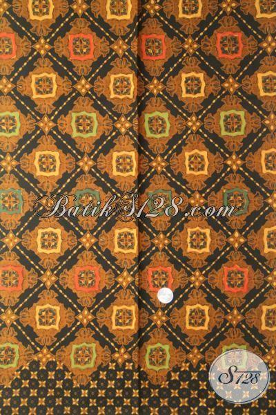 Jual Batik Klasik Motif Mewah Berbahan Halus Proses Kombinasi Tulis, Bahan Pakaian Batik Trendy Harga Terjangkau