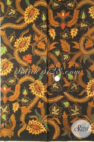 Batik Halus Motif Terbaru Bahan Busana Kwalitas Istimewa Proses Kombinasi Tulis, Cocok Untuk Blus Dan Kemeja Kerja