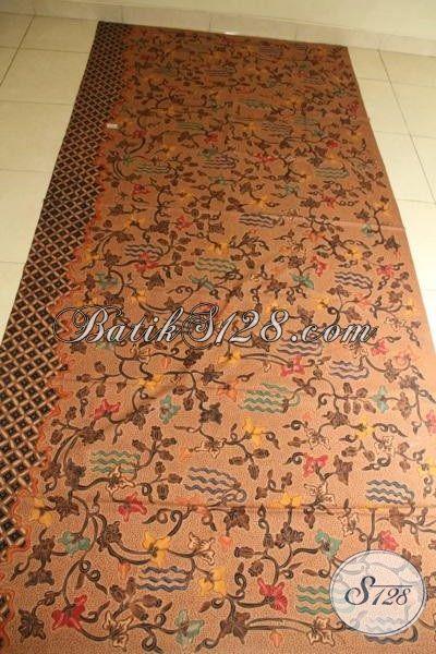 Kain Batik Premium Motif Bagus Dan Mewah, Batik Tulis Solo Harga Mahal Bahan Busana Spesial Pejabat Dan Pengusaha
