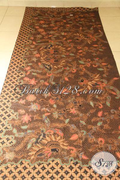 Kain Batik Premium Motif Unik Dan Mewah, Batik Tulis Tangan Halus Modis Dan Fashionable Untuk Baju Kerja Dan Acara Formal