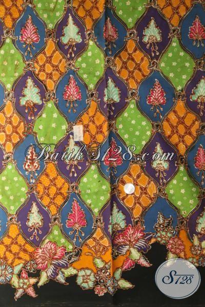 Batik Jawa Premium Motif Masa Kini, Kain Batik Mewah Proses Tulis Bahan Baju Pria Muda Tampil Modis Keren Serta Gaul