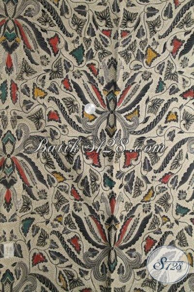 Batik Klasik Modern Khas Solo Bahan Aneka Busana Wanita Dan Pria Masa Kini, batik Kombinasi Tulis Pas Buat Blus Maupun Kemeja