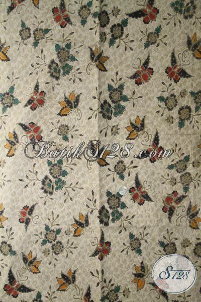 Jual Kain Batik Kombinasi Tulis Motif Terbaru Yang Banyak Di Cari, Batik Bahan Busana Elegan Cocok Untuk Pria Dan Wanita
