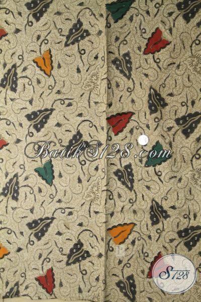 Batik Kain Terbaru Produk Solo Motif Bagus Sekali Proses Kombinasi Tulis, Batik Jawa Etnik Pilihan Tepat Untuk Busana Atasan Pria Dan Wanita [K2024BT-240×110 cm]