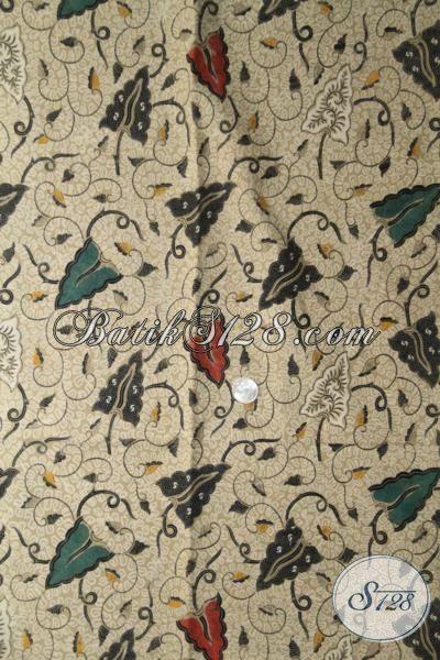 Produk Batik Bahan Busana Kwalitas Bagus Harga Terjangkau, Jual Online Kain Batik Jawa Tengah Motif Elegan Cocok Untuk Pakaian Formal