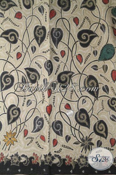 Batik Trendy Motif Terkini Bahan Busana Wanita Muda Dan Dewasa, Batik Solo Kombinasi Tulis Kwalitas Premium Harga Grosir
