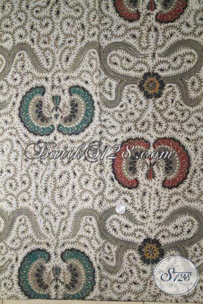 Kain Batik Klasik Produk Terbaru Yang elegan Nan Mewah, Batik Kombinasi Tulis Motif Babon Angkrem Kwalitas Bagus Harga Terjangkau