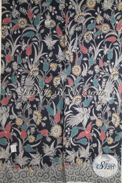 Batik Bahan Busana Terkini Dengan Kwalitas Halus Dan Motif Yang Keren, Batik Kombinasi Tulis Buatan Solo Harga Lebih Terjangkau
